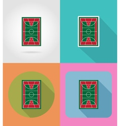 sport flat icons 42 vector image