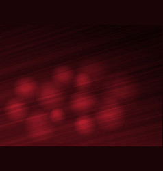 Abstract dark red background with spheres vector