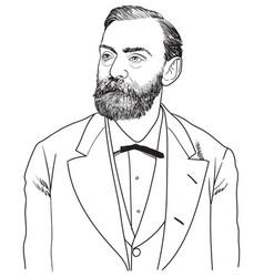 Alfred nobel vector