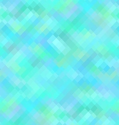 Blue Geometric Background Seamless Pattern vector image