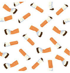 Cigarettes seamless pattern vector