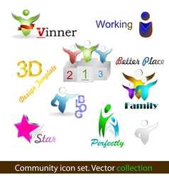 Community pack vector image