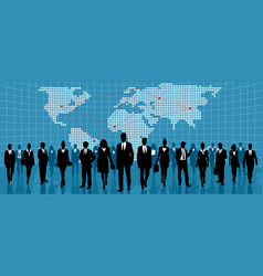 global international business vector image