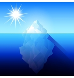 Iceberg Antarctica vector