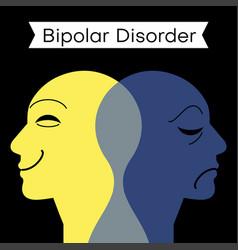 Mood disorder split personality vector