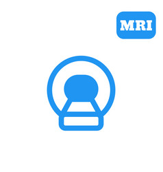 Mri ct scan icon vector