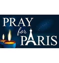 Pray for paris abstract background silhouette vector