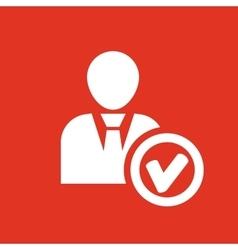 The add user icon Add friend and avatar symbol vector image