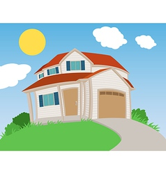 Sweet house vector image