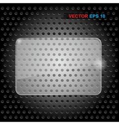 Transparent banner vector image