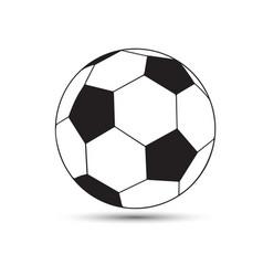 A soccer soccer-ball vector