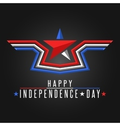Happy Independence Day United States background vector