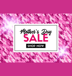 Mothers day sale promotion template vector