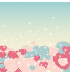 St Valentine s Day Greeting Card vector image