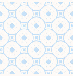 subtle minimal geometric pattern in light blue vector image
