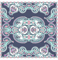 Traditional ornamental floral arabesque paisley vector