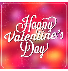 Valentines day template vector