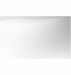 white gray modern bright halftone background vector image