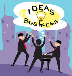 business-ideas-2 vector image vector image