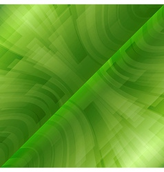 Background green stripes wave diagonal vector