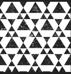black geometric triangle background abstract vector image