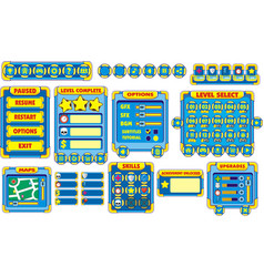Game gui 12 vector