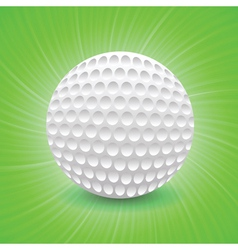golf game vector image