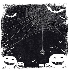 halloween blank background vector image