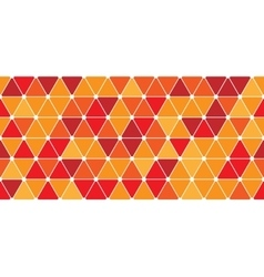 Seamless triangle pattern vector