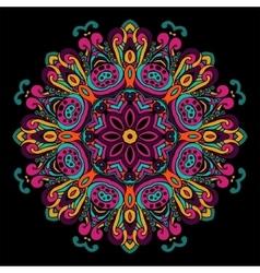 Abstract Festive ethnic mandala background vector image