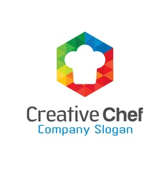 Creative Chef Design vector image vector image