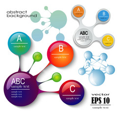 design set of infographics vector image vector image