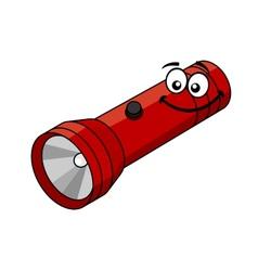 Cartoon flashlight vector image