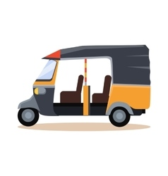 Asian Taxi Icon vector
