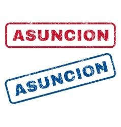 Asuncion Rubber Stamps vector