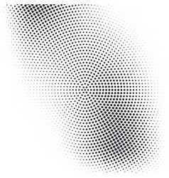 halftone dotted grunge textured background vector image