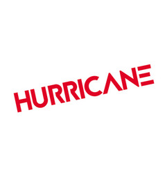Hurricane rubber stamp vector