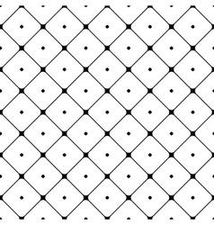 Polka dot seamless pattern Rhombus ornament 2 vector image