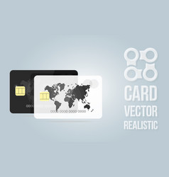 banner template credit card for the banking vector image vector image