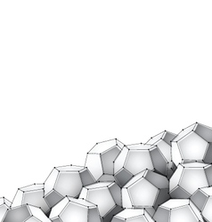 dodecahedron vector image vector image