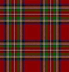Royal Stewart Tartan vector image