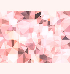 abstract pastel pink background of jewel vector image