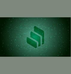 Compound comp token symbol defi project vector