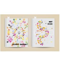 Cover design annual report Brochure template vector