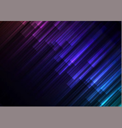 dark rainbow speed bar overlap in dark background vector image