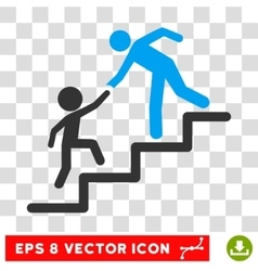 Education steps eps icon vector
