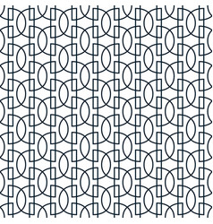 geometric abstract seamless pattern linear simple vector image