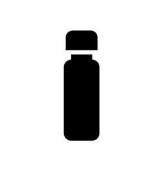 Medicine bottle silhouette vector