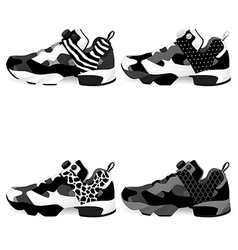 Running shoes Sneakers vector image
