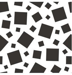 Square geometric seamless pattern vector